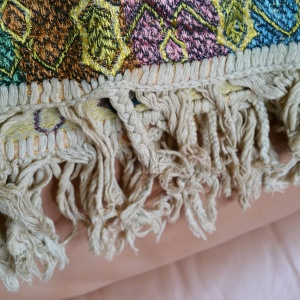 A close up of the braids Amy's mother and Beatty made as children.